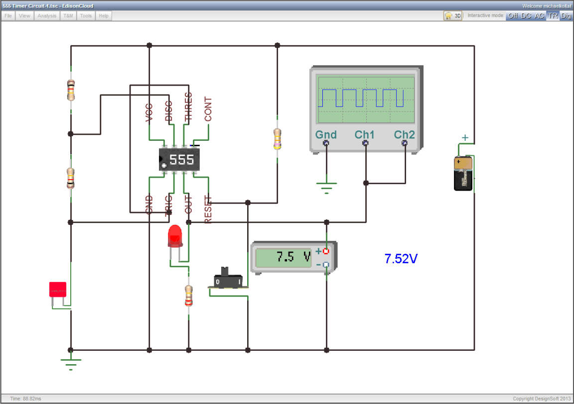 Circuit Schematic With Explanation Schematics Circuits Electronics